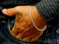 Silberkette Armband Venezia Ru B3.7L18