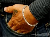 Silberkette Armband Venezia Ru B5.3L25