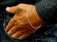 Silberkette Armband Venezia Ru B2.7L23