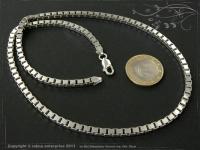 Silberkette Venezia B3.8L80