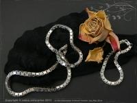 Silver Chain bracelet Venezia B4.5L19