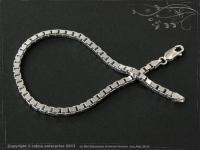 Silberkette Armband Venezia B3.0L24