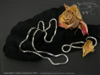 Silver Chain bracelet Venezia B2.5L18