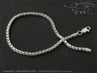 Silver Chain bracelet Venezia B2.5L24