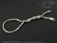 Silver Chain bracelet Venezia B2.0L17