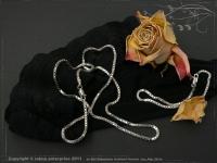 Silver Chain bracelet Venezia B2.0L18