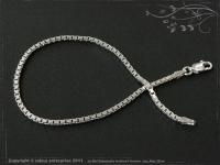 Silver Chain bracelet Venezia B2.0L24