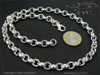 Silberkette Erbsenkette B8.2L90