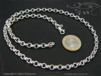 Silberkette Erbskette B5.5L90