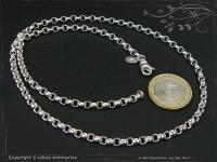 Silberkette Erbsenkette B4.0L45