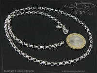 Silberkette Erbsenkette B4.0L80