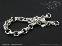 Silberkette Erbsenkette Armband B8.2L20