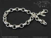 Silberkette Erbsenkette Armband B7.0L25